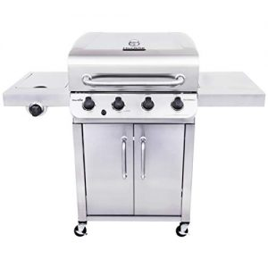 Char-Broil 463375919 Performance Stainless Steel 4-Burner Cabinet Style Gas Grill