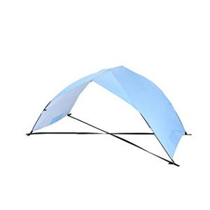 Fine Beach Tent Sun Shelter, Sand & Surf Beach Tents Umbrella & Canopy Easy Setup for Outdoor Camping Fishing, Portable Shade Awning (Sky Blue)
