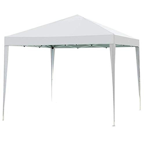 Impact Canopy 10' x 10' Canopy Tent Gazebo with Dressed Legs, White