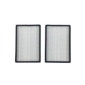 Iusun 2PC Hepa Filter Replacement Part Kit For kenmore EF-1 86889 Air Purifier Accessories Vacuum Cleaner Clearing Set (white) (A)