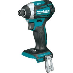 Makita XDT14Z 18V LXT Lithium-Ion Brushless Cordless Quick-Shift Mode 3-Speed Impact Driver, Tool Only, (Renewed)