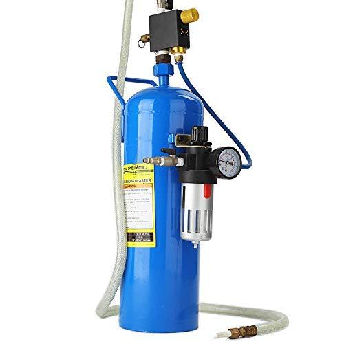 TOPENS Soda Blaster 40LB Soda Sand Blaster, Portable Air Abrasive Media Blaster
