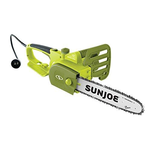 Sun Joe SWJ698E 12-inch 9-Amp Electric Chain Saw with Kickback Safety Brake