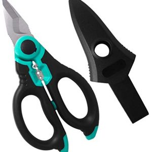 C.Jet Tool Stainless Heavy Duty Professional Electrician Scissors