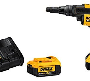 DEWALT 20V MAX XR Screw Gun with Adjustable Torque and Clutch, Brushless (DCF622M2)