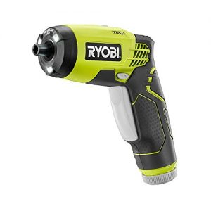 Ryobi HP54L 4V Lithium Ion 600RPM 1/4 Inch Hex Chuck Compact Quickturn Screwdriver (4V Lithium Ion Battery and Charger Included)