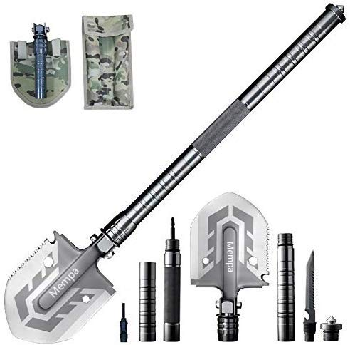 Mempa Multi-Purpose Folding Shovel 23-in-1 Ultimate Survival Tool