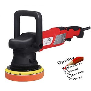 """VI-CO 6"""" Variable Speed Sander All-in-One Polisher Dual-Action Random Orbital Kit with ETL certified, 950W, 2000-4800RPM, Waxer, Grinder, Buffer"""