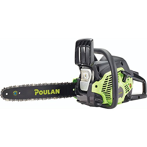 Poulan PL3314, 14 in. 33cc 2-Cycle Gas Chainsaw