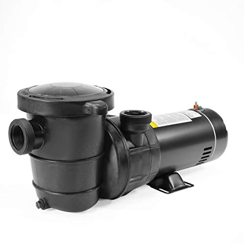 "XtremepowerUS 1.5HP High Flow Pool Pump Self Prime Above Ground Swimming Pool Spa Pump 1.5"" NPT w/Strainer Basket Filter"