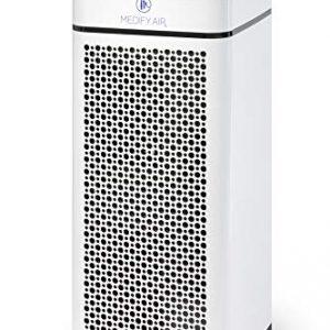 Medify MA-40W V2.0 Medical Grade Filtration H13 True HEPA for 840 Sq. Ft. Air Purifier, 99.97% | Modern Design - White