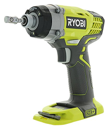 Ryobi One+ P236 18V 1/4 Inch 3,200 RPM 1,600 Inch Pounds Lithium Ion Cordless Impact Driver (Battery Not Included, Power Tool Only)