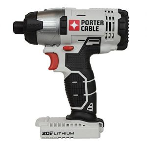"""Porter Cable 20v Max Lithium Ion 1/4"""" Hex Impact Driver (PCC641 Bare Tool)"""
