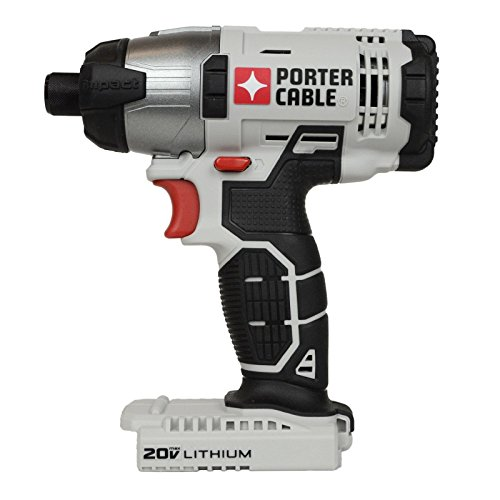 "Porter Cable 20v Max Lithium Ion 1/4"" Hex Impact Driver (PCC641 Bare Tool)"