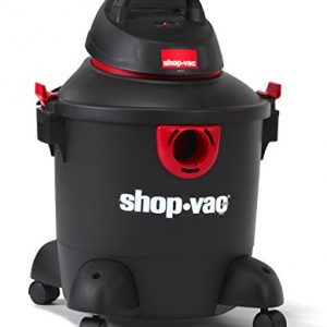 Shop-Vac 5985100 8 gallon 3.0 Peak HP Classic Wet Dry Vacuum, Black/Red