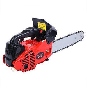 Ridgeyard Petrol Chain Saw Cutting Wood Gas-Powered Chainsaw 25CC 2-Stroke Single Cylinder Light Weight Chain Saw