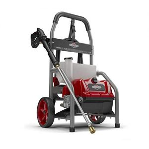 Briggs & Stratton S1800 1800 MAX PSI at 1.1 GPM Electric Pressure Washer with Detergent Tank, 20-Foot High-Pressure Hose, and Turbo Nozzle