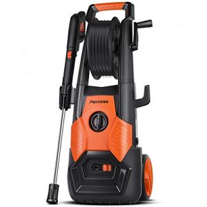 PAXCESS Electric Pressure Washer 2150 PSI 1.85 GPM High Pressure Power Washer Machine with All-in-One Nozzle, Hose Reel, Detergent Tank Best for Cleaning Car/Vehicle/Floor/Wall/Furniture/Outdoor