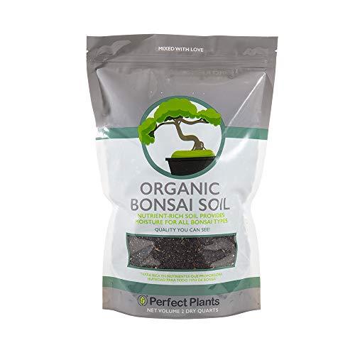 Bonsai Soil by Perfect Plants - 2qts. | Premium All-Purpose Mix | Perfect for All Bonsai Tree Varieties
