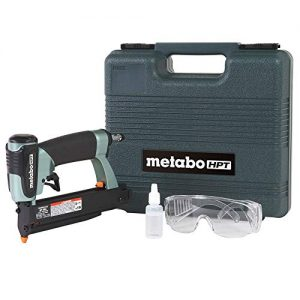 "Metabo HPT Pin Nailer Kit, 23 Gauge, Pin Nails - 5/8"" to 1-3/8"", No Mar Tip - 2, Depth Adjustment, 5-Year Warranty (NP35A)"