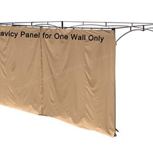 "APEX GARDEN Universal 14-ft Privacy Panel Curtain/Side Wall Sunshade (One Side Only) (14 Ft, 168""(W) x 84""(H))"
