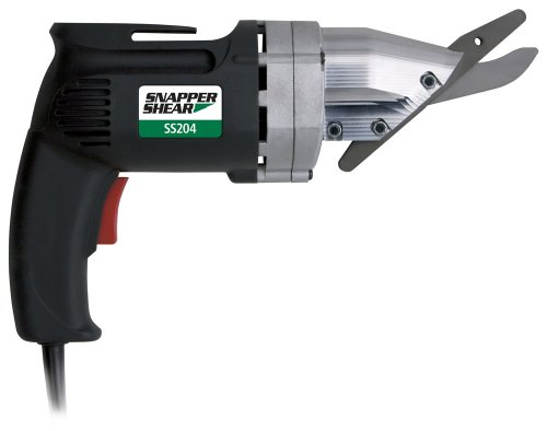 """PacTool SS204 Snapper Shear For Cutting Up To 5/16"""" Fiber Cement Siding, 4.8 Amp Motor"""