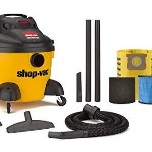 Shop-Vac 9653610 6 Gallon 3.0 Peak HP Contractor Wet Dry Vacuum,Black