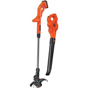 "BLACK+DECKER Combo Kit, 10"" Lack+Decker LCC221 20V MAX Lithium String Trimmer/Edger Plus Sweeper C"