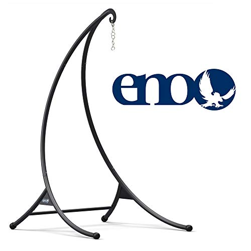 ENO, Eagles Nest Outfitters SkyPod Hanging Chair Stand, Charcoal