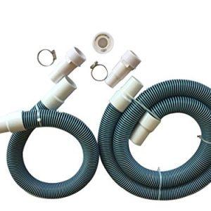 "FibroPool Professional 1 1/2"" Swimming Pool Filter Hose Replacement Kit (3 Foot 6 Foot)"