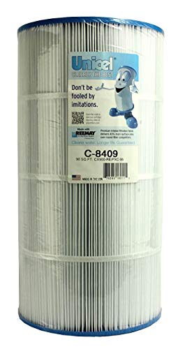Unicel C8409 Swimming Pool and Spa Replacement Filter Cartridge for Hayward CX900 RE, Sta Rite 25230 0095S, Waterway 817 0100N, Pleatco PA90, Filbur FC1292, and Unicel C8409