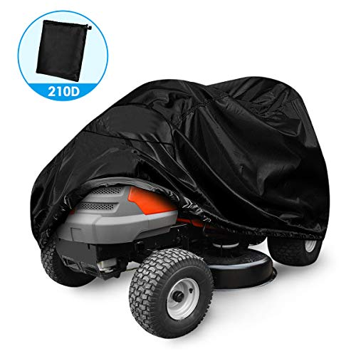 Lawn Mower Cover,Riding Lawn Tractor Cover 210D Waterproof Heavy Duty Durable