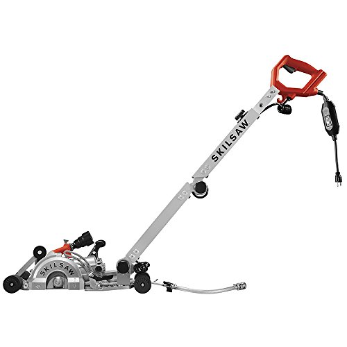 """SKILSAW SPT79A-10 7"""" Walk Behind Worm Drive for Concrete"""