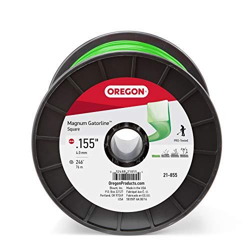 Oregon 21-855 Gatorline Square String Trimmer Line .155-Inch Diameter 3-Pound Spool
