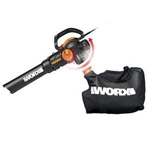 WORX WG512 Trivac 2.0 Electric 12-amp 3-in-1 Vacuum Blower/Mulcher/Vac