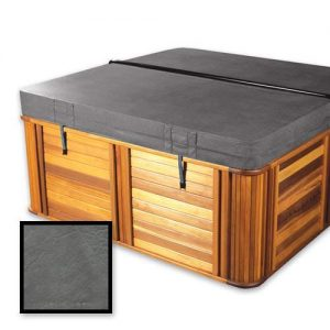 "The Cover Guy in Stock - Standard 4-2"" Replacement Hot Tub Spa Cover 84 x 84 x 6 Radius/Rounded Corners in Charcoal"