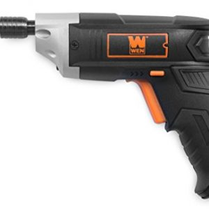 WEN 49103 3.6V Lithium-Ion Cordless Electric Screwdriver with Bits & Belt Holster