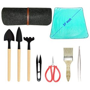 Bonsai Tool Kit Deluxe -Bonsai Tools Accessories 9 Piece Set
