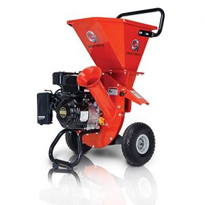 """GreatCircleUSA Wood Chipper Shredder Mulcher Heavy Duty 212cc Gas Powered 3 in 1 Multi-Function 3"""" Inch Max Wood Diameter Capacity EPA/CARB Certified Aids in Fire Prevention & Building a Firebreak"""