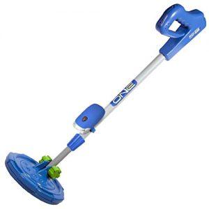 ExploreOne Metal Detector for Kids | Water Resistant, Light Weight, Adjustable Junior Metal Detector | Blue