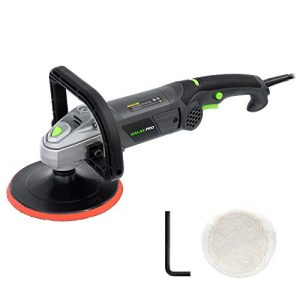 "GALAX PRO 10Amp Car Buffer 7"" Waxier 6 Variable Speed Polisher Sander, Detachable D Shape Handle, Soft Star Trigger, Ideal for Polishing Home Appliance, Furniture, Ceramic, Car &Boat Detailing"