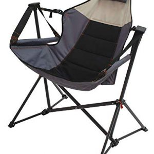 Rio Gear Outdoor Foldable Hammock Lounger - Putty/Slate