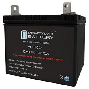 Mighty Max Battery 12V 200CCA Battery for Craftsman 25780 Lawn Tractor