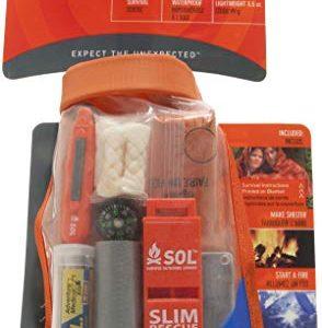 S.O.L. Survive Outdoors Longer S.O.L. Waterproof Scout Survival Kit
