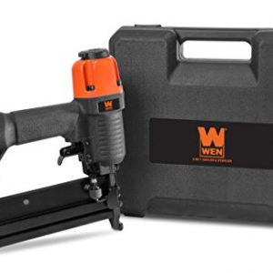 """WEN 61718 18 Gauge 2"""" 2-in-1 Pneumatic Brad Nailer & Stapler with Carrying Case & Safety Glasses"""