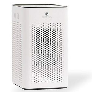 Medify MA-25 W1 Medical Grade Filtration H13 True HEPA for 500 Sq. Ft. Air Purifier   Dual Air Intake   Two '3-in-1' Filters   99.97% Removal in a Modern Design - White