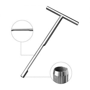 Ternence Flynn 20 Inch Soil Sampler Probe, Stainless Steel T-Style Handle Soil Test Kits Satisfying The Sampling Depth of Agriculture Forest and Golf Course