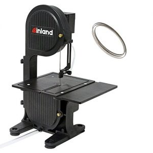 Inland Craft DB-100 Tabletop Band Saw Machine | Wet Saw Glass Stone Plastic Coral | Includes Diamond Band Saw Blade