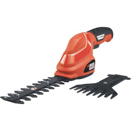 BLACK+DECKER GSL35 3.6V Shear/Shrub Combo, Orange
