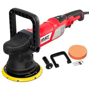 Goplus 6 Inch Variable Speed Sander All-in-One Polisher Dual-Action Random Orbital Kit, 950W, 2000-4800RPM, Waxer, Grinder, Buffer